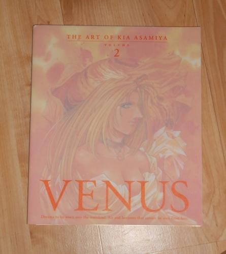 Venus the art of Kia Asamiya vol. 2
